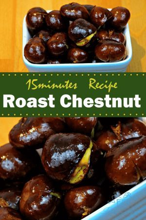 Chestnut is a very common street food, did you know you can cook them easily at home? If not, check out this recipe and learn how to do roast chestnut at home.