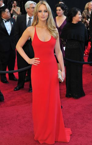 Academy Awards Countdown: Work a Sexy Upper Body Like Jennifer Lawrence : This look was the start of our JLaw obsession. #SelfMagazine