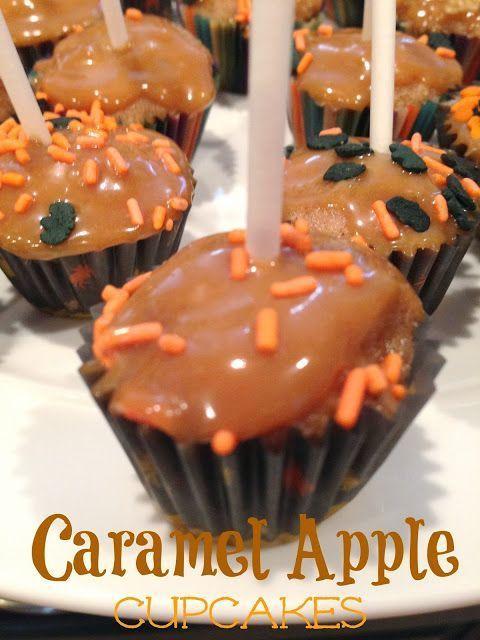 Einfach gemacht … mit Liebe: Mini Caramel Apple Cupcakes – Einfach gemacht mit …   – Make Good Things