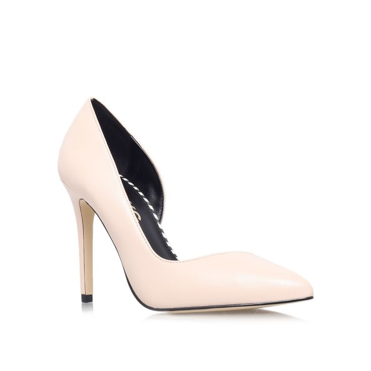 abbie nude high heel court shoes from Miss KG