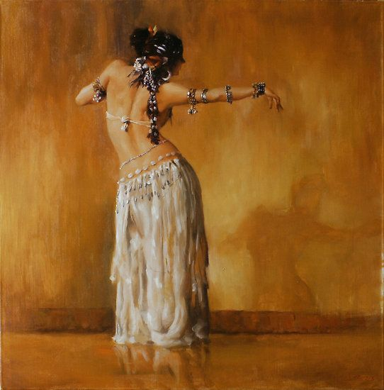 The dancer, Rachel Brice, from the photography of Taboo Media (with permission from both): / A dancer seems to be dancing with her shadow • Also buy this artwork on wall prints, home decor, stationery, and more.