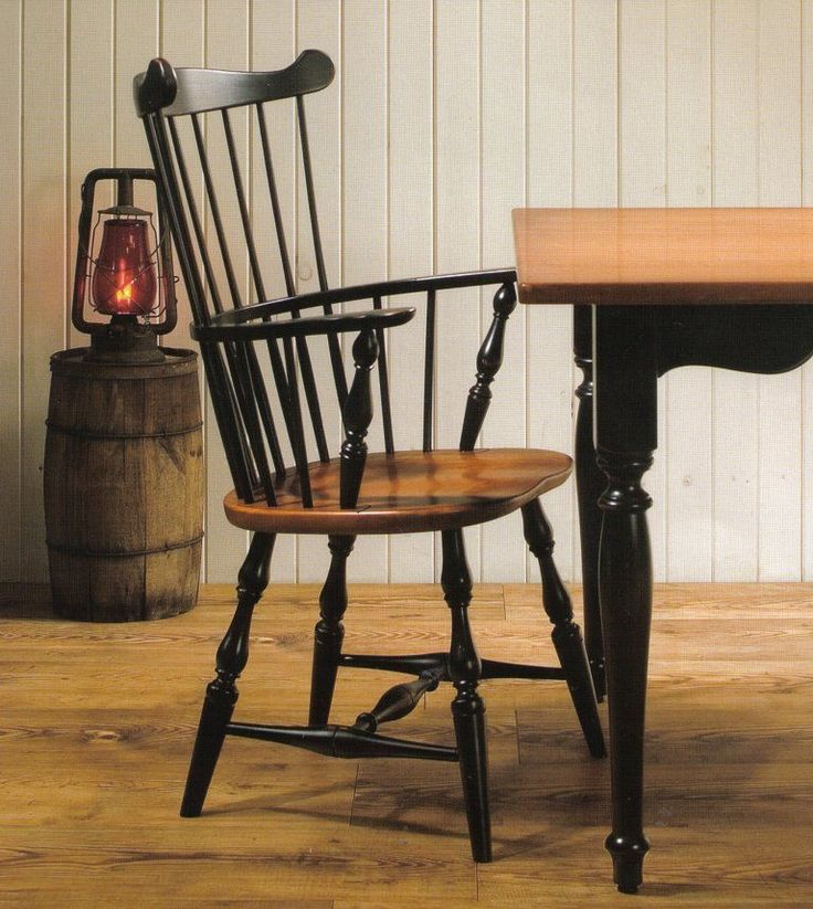 amish nantucket fanback windsor dining chair