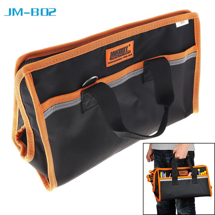 sale jakemy jm b02 10 inch water proof hand tool bag multi functional pocket pouch professional #electricians #tool #pouch