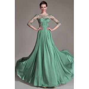 Зеленое вечернее платье 2015 для матери невесты « Каталог