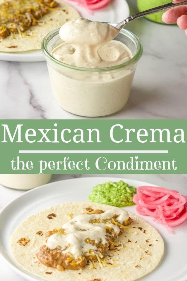 This Mexican Crema Recipe Is Delightfully Creamy And Perfectly