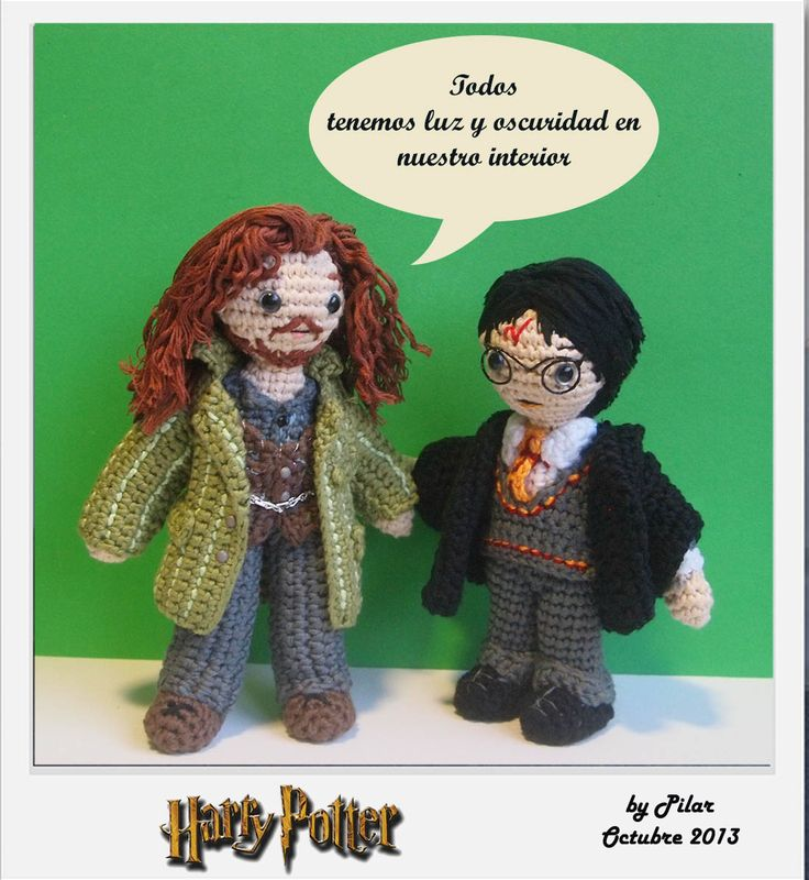 Harry Potter Amigurumi Crochet Patterns : #amigurumi Harry Potter amigurumis Pinterest Awesome ...