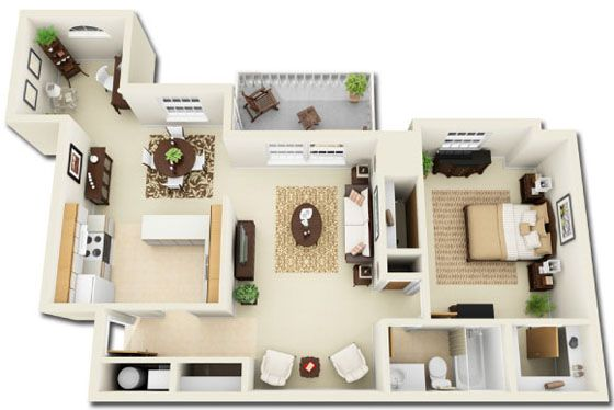 12 best images about layouts on pinterest house plans for 3d apartment floor plans