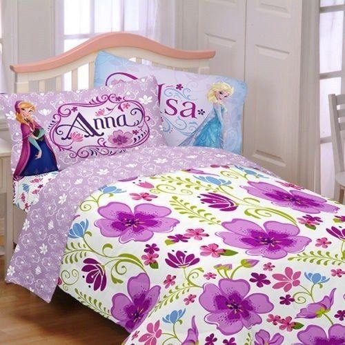 Disney Frozen Bedding Sets and Room Decor Selections - Twin sized, Full sized and throws, plus some great accents like wall decals and area rugs! @A Shop For All Seasons #frozenbedding