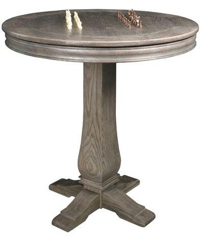 California House - Round Pub Table - T24-RND-HIL-PB
