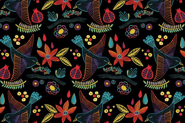 Mexican inspired pattern