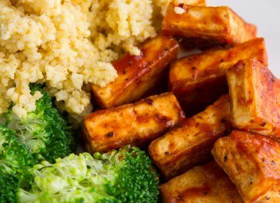 Easy BBQ Tofu: A super easy BBQ Tofu recipe that comes together in ...