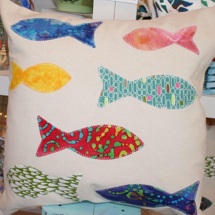 Fish Pillow. Seaside DecorBeach House ...