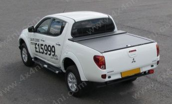 Mitsubishi L200 MK6 2009 on D/C Armadillo Roll Top Cover (Curved Bed)