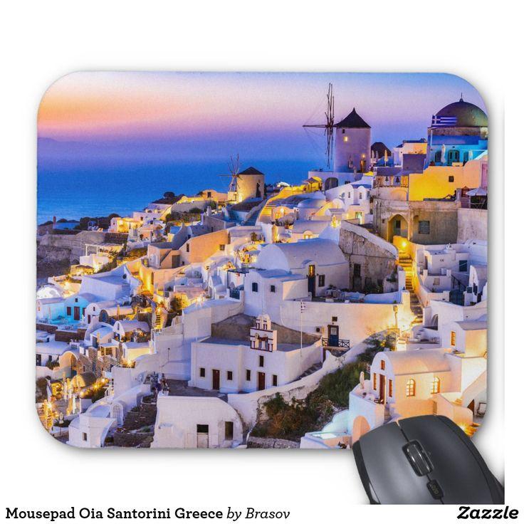 Mousepad Oia Santorini Greece