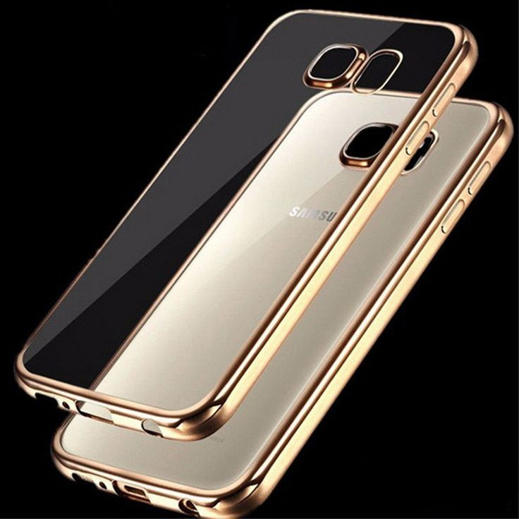 ShockProof Bumper Clear Slim Case Cover For Samsung Galaxy S7 Edge