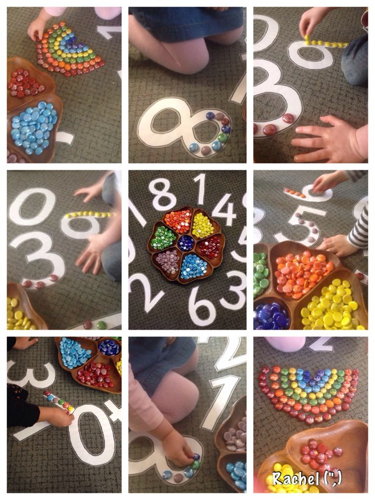 """Nuggets, numbers & rainbows - from Rachel ("""",)"""