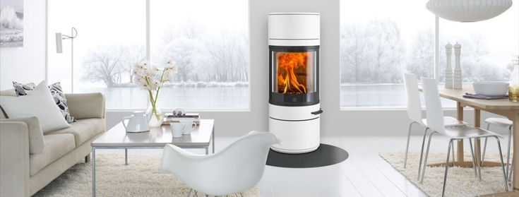 Scan 83 - hvit #woodstove #fireplace #ildsted #peisovn