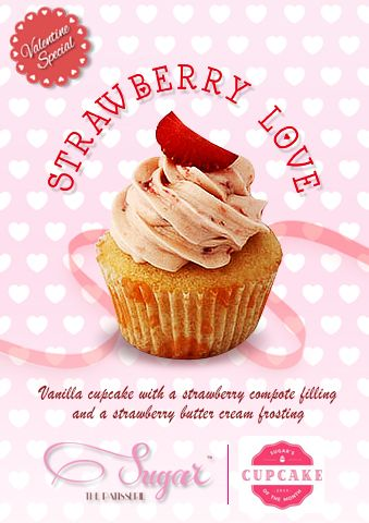 February is one of our favourite months - cause it brings the season of love! Celebrate your love this Valentine's Day with our special Strawberry Love Cupcake, all of February only at Sugar the Patisserie! To order a special batch for your loved one, place a custom order with us by calling 022-26614708 or emailing us on sugarthepatisserie@gmail.com #sugarthepatisserie #strawberrylove #cupcakeofthemonth #cupcake #love #valentine