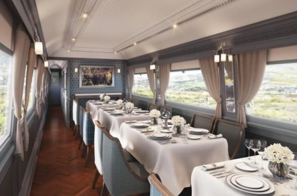 Go on A Girls Getaway Aboard a Luxury Train // The Belmond Grand Hibernian Train in Dublin, Ireland