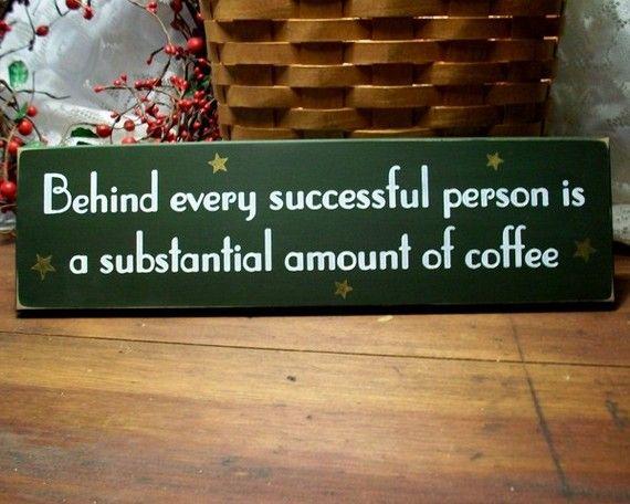 Coffee house plaque