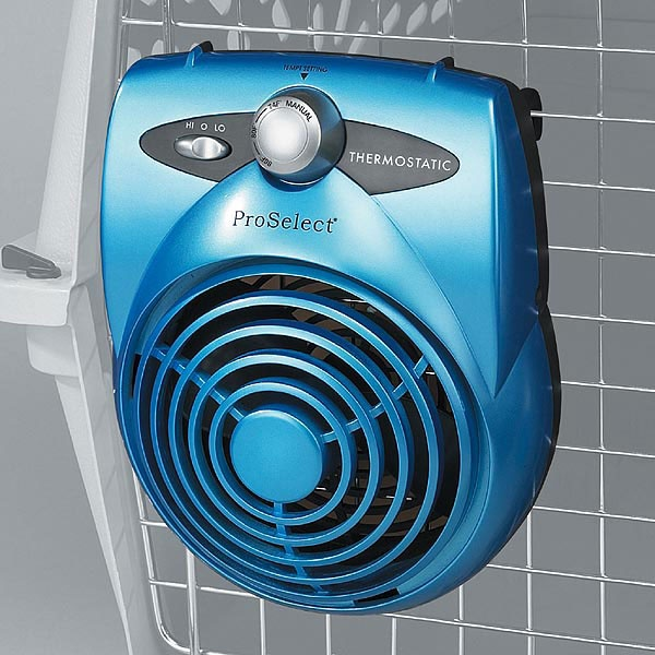 Deluxe Thermostatic Pet Crate Fans Cheap dog kennels