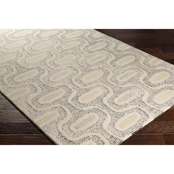 George Oliver Duane Hand Tufted Neutral Gray Area Rug Wayfair Geometric Area Rug Wool Area Rugs Area Rugs