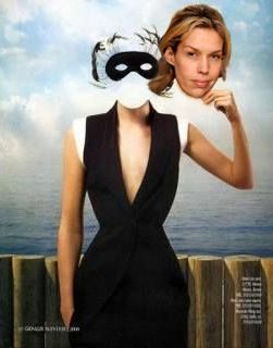 UNMASKED AT LAST! Will the real Becca Byram please stand up? (After Rene Magritte, French Surrealist Painter).