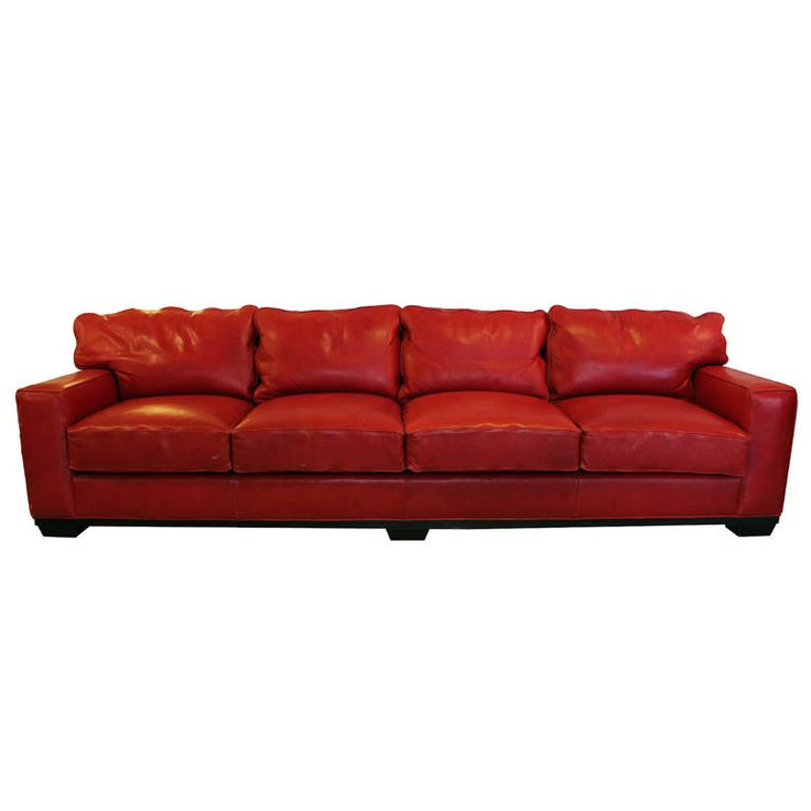 10 Best Collection Of Off White Leather Sofas: Best 25+ Red Leather Sofas Ideas On Pinterest