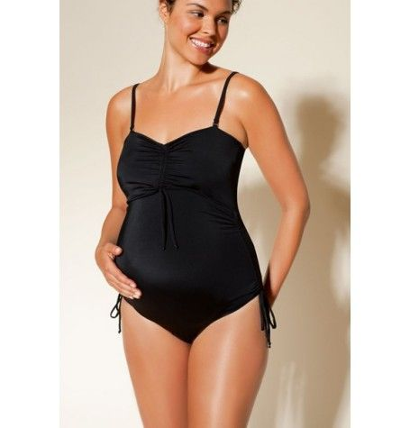 Fast Food One Piece Maternity Swimsuit also suitable for breastfeeding. Looks great lazing at the beach or working hard at aqua-aerobics. Shop it now at http://www.highstreetmama.com.au/swimwear/fast_food_maternity_nursing_swimsuit