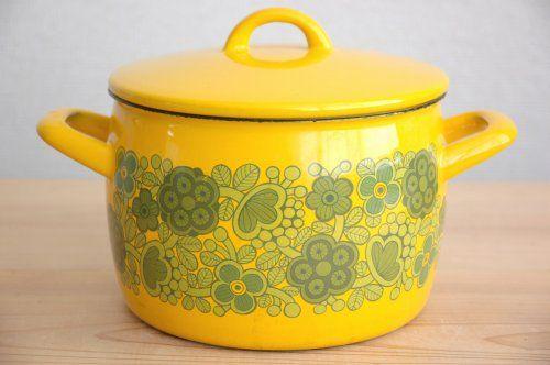kaj franck- whoa, I never knew my mom's pot was Finnish