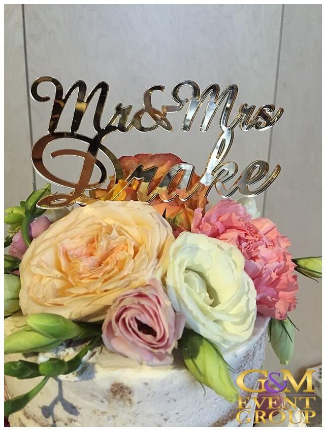 Kasey & James' wedding @ the Joinery West End - Wedding Cake | Wedding DJ + MC + Lighting #warehousewedding #uplighting #weddinglighting #gmeventgroup