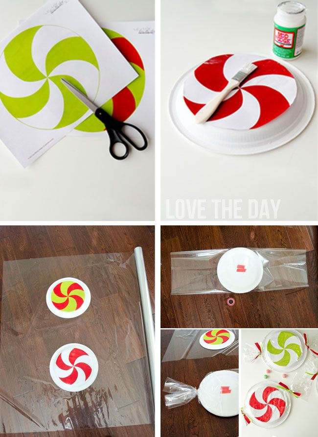 Paper Plate Peppermint Tutorial  sc 1 st  Pinterest & 18 best Peppermint Forest images on Pinterest | Merry christmas love ...