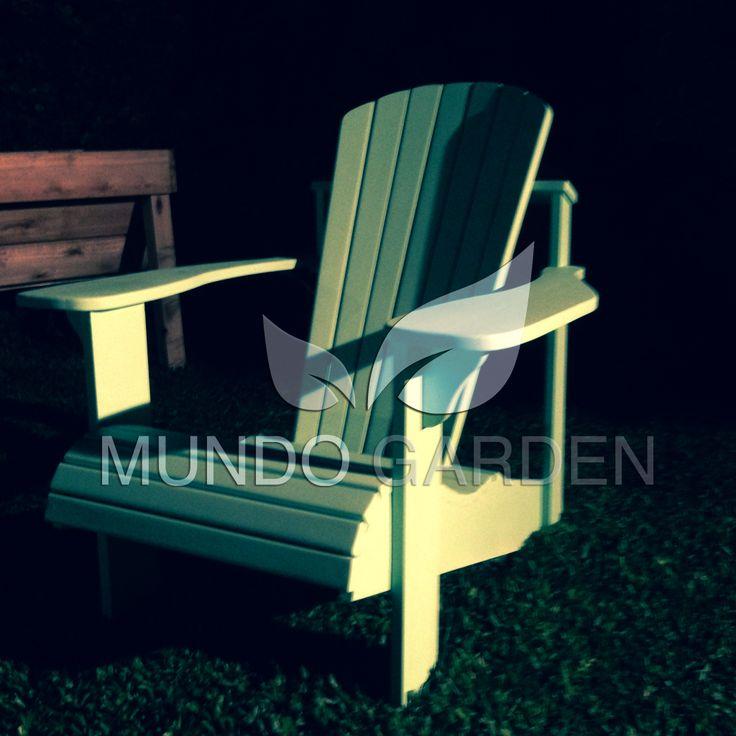 Mejores 7 imágenes de Sillones de interior / Exterior Adirondack ...