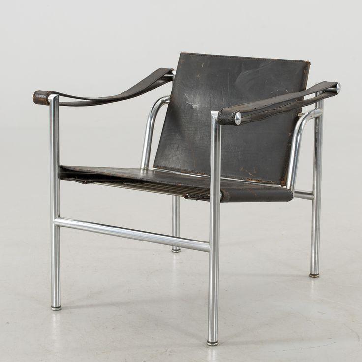 """Le Corbusier Fåtölj, """"LC-1"""", Cassina"""