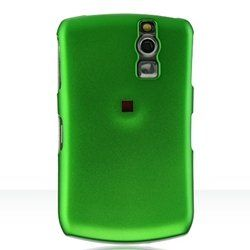 Buy BlackBerry Curve / 8300 / 8310 / 8320 / 8330 Crystal Rubberized Case - Green NEW for 0.99 USD | Reusell