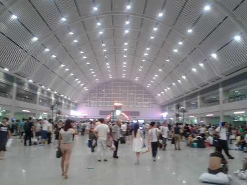 Shenyang train station 沈陽站