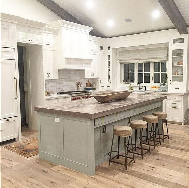 Beautiful Kitchens With White Cabinets: 25+ Best Ideas About Gray Island On Pinterest