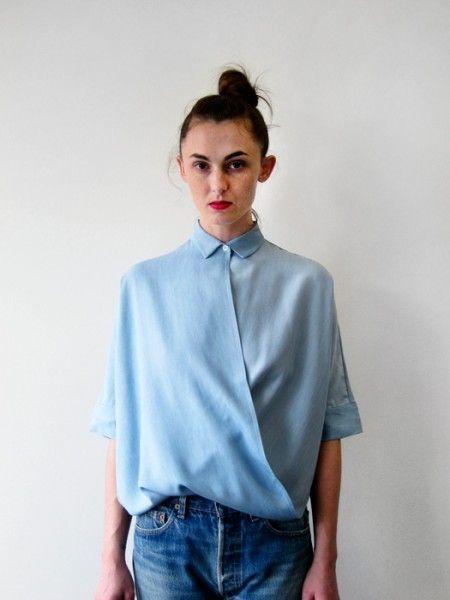 Две блузки перевертыши / Блузки / Модный сайт о стильной переделке одежды и интерьера