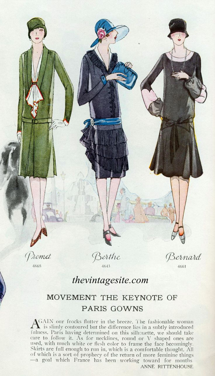 1926 Fashion These dresses were the latest in french <b>fashion</b> of the 1920′s.