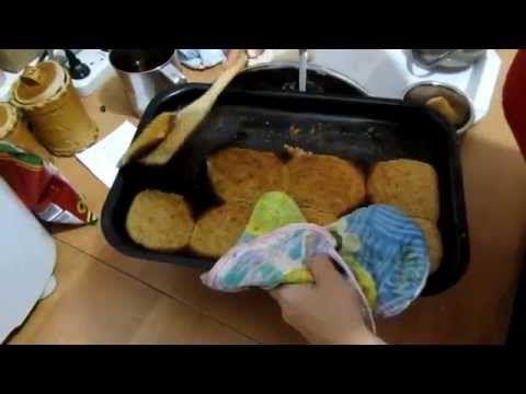 Семья Бровченко. Рецепт овсяного печенья с бананами. - YouTube