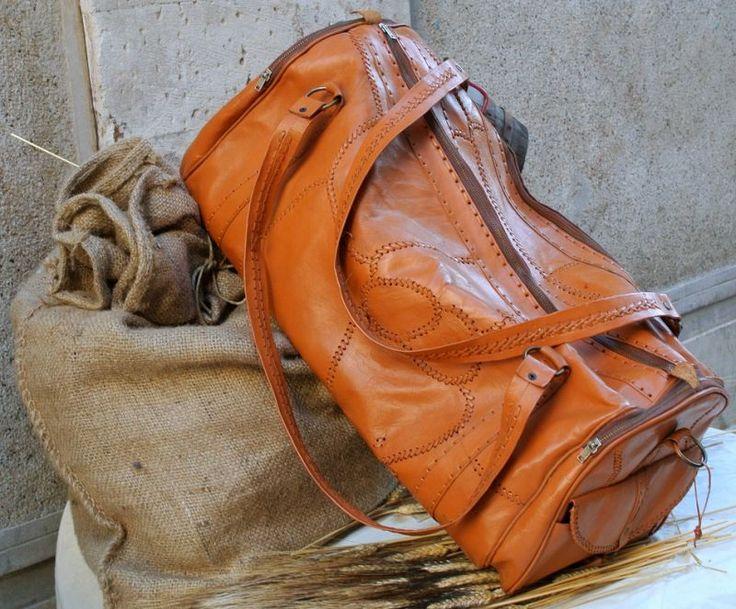 borse da viaggio in pelle artigianali