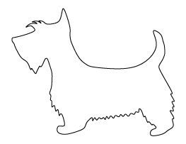 Scottie Dog Pattern