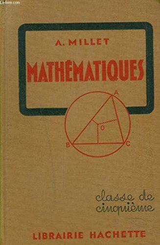 Mathematiques Classe De Cinquieme Arithmetique Algebre