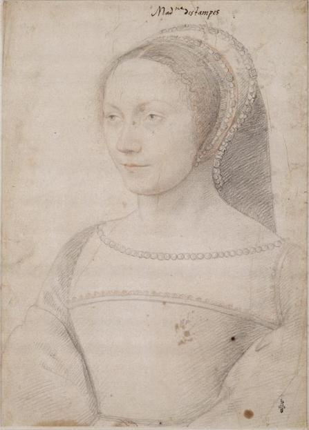 François Ier et la duchesse d'Etampes