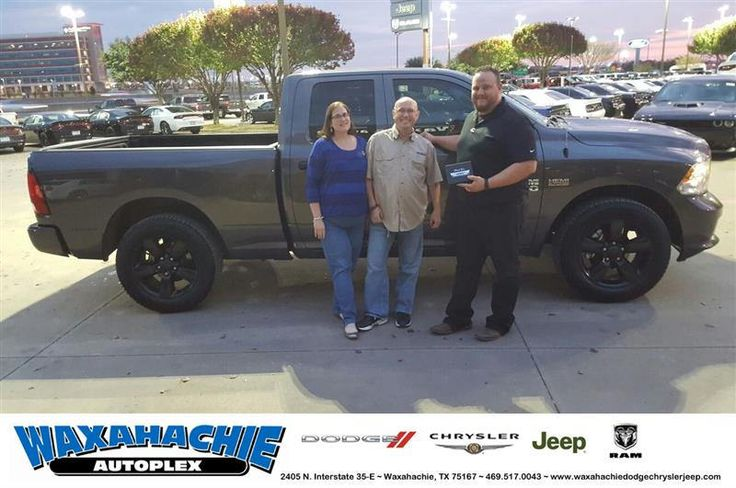 https://flic.kr/p/NrQDfF   Waxahachie Dodge Chrysler Jeep Customer Review   Bryan did an amazing job. He was extremely personable and made the entire experience one that was enjoyable. He sold us on him the first time we were in here and based on that, we bought a vehicle several months sooner than we were thinking of. He exemplifies what it means to be a person and a salesman, not just out to make a buck.  Craig, deliverymaxx.com/DealerReviews.aspx?DealerCode=F068&R...