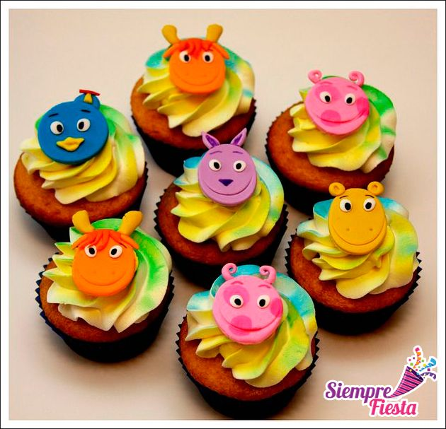 Ideas para fiesta de cumpleaños de Backyardigans. Encuentra todo para tu fiesta en nuestra tienda online: http://www.siemprefiesta.com/fiestas-infantiles/ninos/articulos-backyardigans.html?limit=all&utm_source=Pinterest&utm_medium=Pin&utm_campaign=Backyardigans