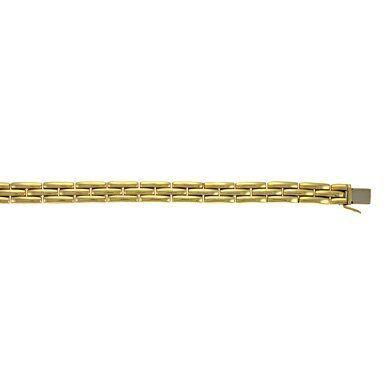 18k Yellow Gold 9.2mm Fancy Bracelet - 7 Inch - JewelryWeb JewelryWeb. $4447.10