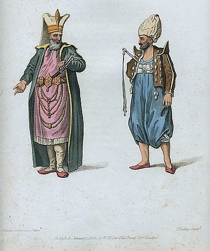 Two-Janissaries, Ottoman.