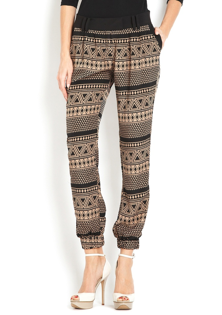 Obsessed with these spotted pants is an understatement