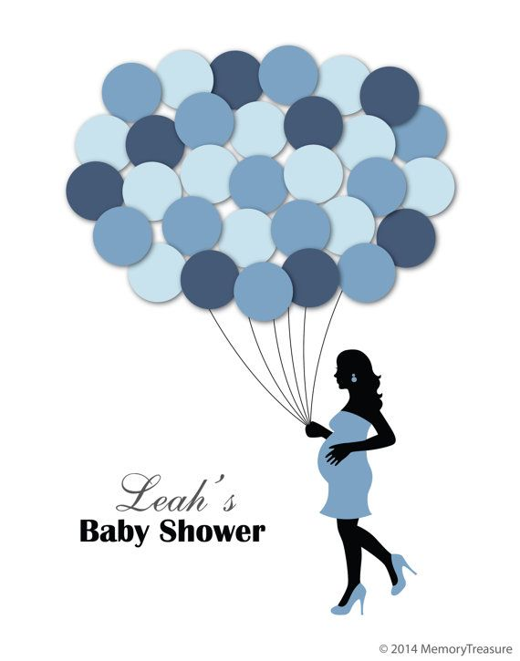 Baby Shower Guest Book Alternative Guest Sign In By MemoryTreasure